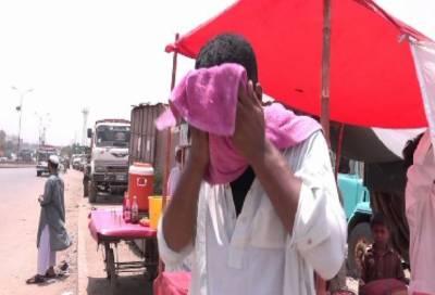 کراچی سمیت سندھ اور جنوبی پنجاب میں آج شدید گرمی کا امکان