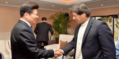 وزیراعظم کی چین کی نیشنل پیپلز کانگریس کے نائب چیئرمین، سی ای او ہواوے سے ملاقات