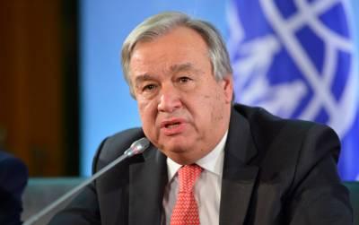 سیکرٹری جنرل اقوام متحدہ کی وینزویلامیں تمام فریقوں سے کشیدگی سے گریزکرنے کی اپیل