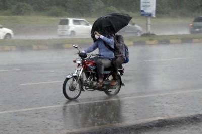 لاہور سمیت پنجاب کے کئی شہروں میں بارش