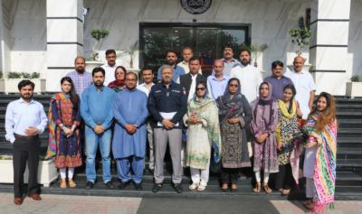 پاکستان فورم فار ڈیموکریٹک پولیسنگ کے21 رکنی آفیسرز وفد کا پنجاب سیف سٹیز اتھارٹی کا دورہ