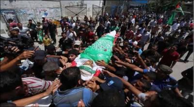 فلسطین:اسرائیلی فورسزکے ساتھ جھڑپوں میں چارفلسطینی شہید