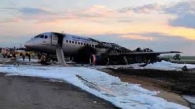 ماسکو: روسی مسافر بردار طیارے میں دوران پرواز آگ، ہنگامی لینڈنگ، 13 افراد ہلاک