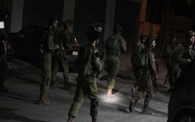 غرب اردن، القدس میں اسرائیلی فوج کی کارروائی، 16 فلسطینی گرفتار