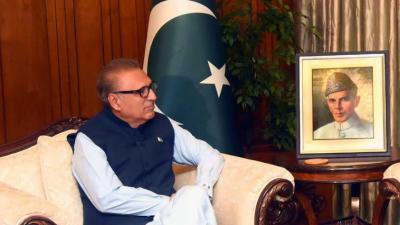 حکومت پاکستانی نوجوانوں کو جدید ٹیکنالوجی کی تعلیم دینے کیلئے مواقع بروئے کار لائے گی، صدر