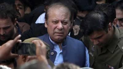 نوازشریف ضمانت کی مدت پوری ہونے کے بعد کوٹ لکھپت جیل لاہورمنتقل