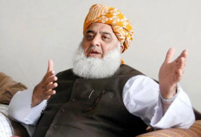 ملک دشمن عناصر پاکستان میں بدامنی اور خوف پھیلانا چاہتے ہیں،مولانا فضل الرحمان