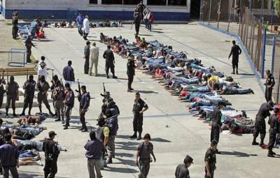 گوئٹے مالا کی جیل میں بغاوت، 3 قیدی ہلاک،10زخمی