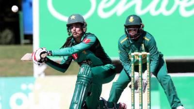 آئی سی سی ویمن چیمپئن شپ: جنوبی افریقا نے پاکستان کو شکست دیدی