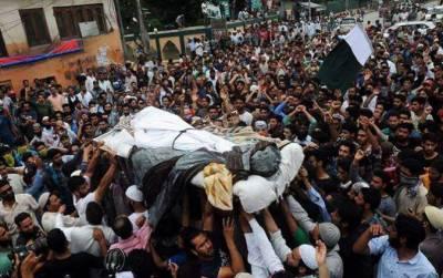 مقبوضہ کشمیر:بھارتی فوج نے شوپیاں میں کشمیری نوجوان کو شہید کردیا
