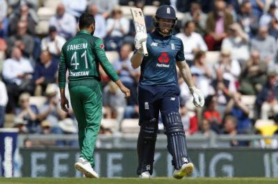 انگلینڈ کا گرین شرٹس کو جیت کے لیے 374 رنز کا ہدف