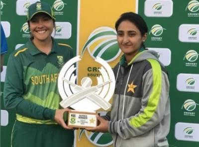 پاکستانی ویمن کرکٹ ٹیم نے جنوبی افریقا کیخلاف سیریز برابر کردی