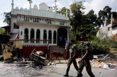 سری لنکا: ایسٹر دھماکوں کے بعد مساجد اور مسلم املاک پر حملے، درجنوں افراد گرفتار