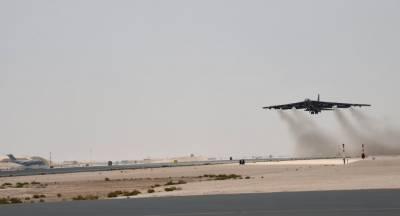 امریکی بمبارطیارے کی ایران کیخلاف پہلی مشن پرواز