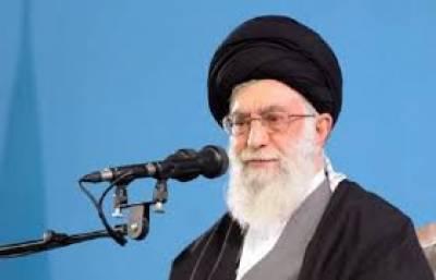 ایران اورامریکہ کے درمیان جذبے اورعزم وحوصلے کاامتحان ہے:آیت اللہ علی خامنہ ای