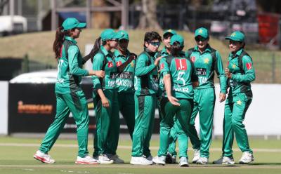 پہلا ٹی ٹوئنٹی: پاکستان ویمن کرکٹ ٹیم نے جنوبی افریقہ کو سات وکٹوں سے ہرادیا