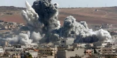 شام کے دو شہروں میں فضائی بمباری، 12 شہری ہلاک