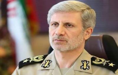 امریکا اسرائیل اتحاد کو شکست دیں گے:ایرانی وزیر دفاع امیر حاتمی