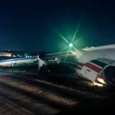 دبئی ایئرپورٹ کے قریب چھوٹا طیارہ گرنے سے 4 افراد جاں بحق