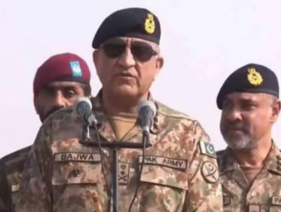 پاکستان کسی بھی غیر متوقع صورتحال سے نمٹنے کیلئے تیار ہے: آرمی چیف