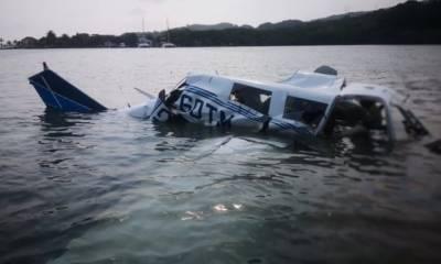 ہنڈورس:طیارہ پرواز کے تھوڑی دیر بعد تباہ ہوکر سمندر میں گرگیا،5 افراد ہلاک