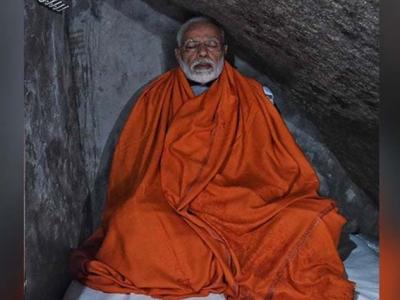 ہندو ووٹرز کی خوشنودی کیلیے مودی کے یوگی بننے کے ڈھونگ پر اپوزیشن کی کڑی تنقید
