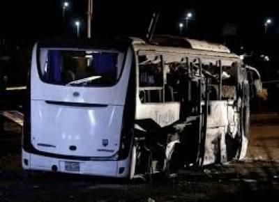 مصر میں سیاح دہشت گردوں کے نشانے پر، بس حملے میں 17 افراد زخمی