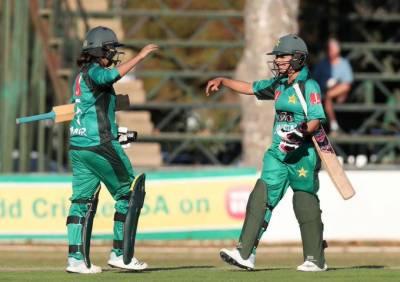 پاکستانی خواتین کرکٹ ٹیم نے جنوبی افریقہ کی خواتین کرکٹ ٹیم کو 4وکٹوں سے ہرا دیا