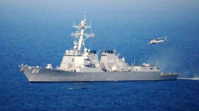 امریکہ بحیرہ جنوبی چین میں متنازعہ علاقے کے قریب جنگی بحری جہازوں کی نقل و حرکت جیسی اشتعال انگیز کارروائیاں بندکرے، چین