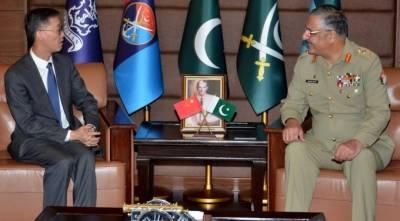 پاکستان چین کا باہمی دلچسپی کے امور پر تبادلہ خیال