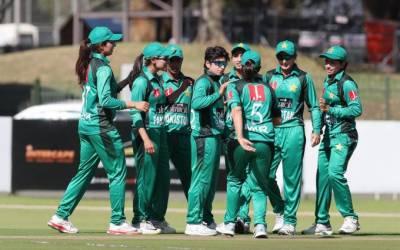 پاکستان اورجنوبی افریقہ کی خواتین کرکٹ ٹیموں کے درمیان چوتھا ٹی ٹونٹی میچ کل کھیلاجائے گا