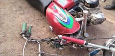 فیصل آباد: ٹرک کی زد میں آکر3 نوجوان جاں بحق