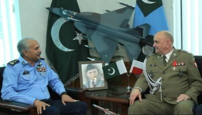 پولینڈ کی مسلح افواج کے کمانڈر کی فضائیہ کے سربراہ سے ملاقات، علاقائی سلامتی کے امور پر بات چیت