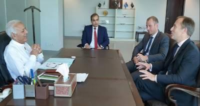 برطانوی ہائی کمشنرکی وزیر ہوابازی سے ملاقات، برٹش ایئرویز کی پروازیں شروع کرنے پر تبادلہ خیال