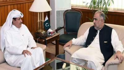قومی اسمبلی کے سپیکر اسد قیصر نے پاکستان میں بجلی اور بنیادی ڈھانچے کی ترقی کے شعبوں میں قطر کے سرمایہ کاروں کی شرکت کی ضرورت پر زور دیا