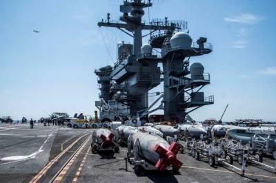 خلیج میں فوج تعینات کرکے خطے کو ایرانی جارحیت سے بچا لیا گیا: پینٹاگان