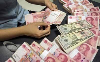 ڈالر کے مقابلے میں چینی کرنسی کی شرح میں کمی