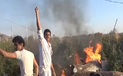سعودی عرب نے نجران کی فضائی حدود میں حوثیوں کا ڈرون مار گرایا.
