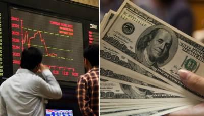 انٹربینک میں ڈالر 15 پیسے مہنگا، اسٹاک ایکسچینج میں مندی سے کاروبار کا آغاز