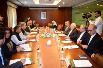 ایران کے وزیرخارجہ جواد ظریف کی وفد کے ہمراہ پاکستان آمد