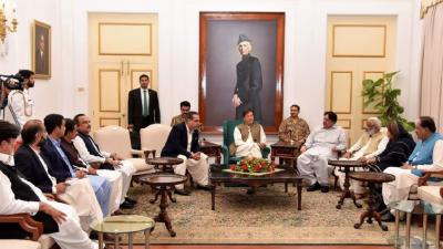 عمران خان کاسندھ میں الگ صوبہ نہ بنانے کا باقاعدہ اعلان