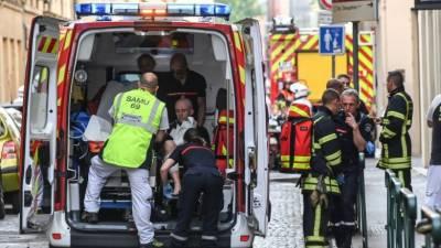 فرانس میں دھماکا،13 افراد زخمی
