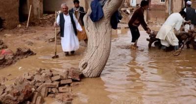 افغانستان میں سیلاب نے تباہی مچا دی، 60 افراد ہلاک