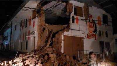 پیرو میں شدید زلزلہ آیا جس کی شدت ریکٹر اسکیل پر 8تھی