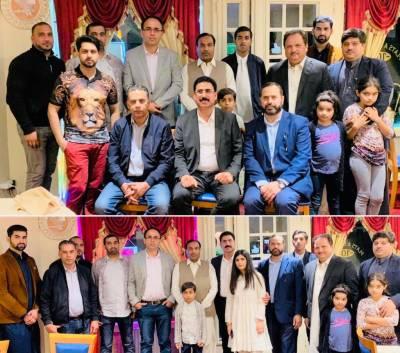 سردار ظہور اقبال کا قریبی دوستوں کے اعزاز میں افطار ڈنر