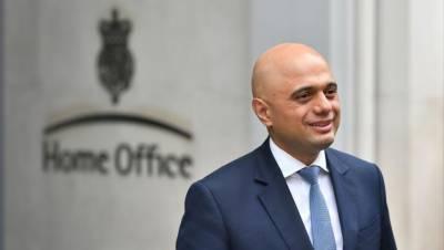 پاکستانی نژاد برطانوی وزیر داخلہ ساجد جاوید بھی وزارت ِعظمیٰ کی دوڑ میں شامل
