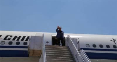 پاکستان کا دورہ مکمل کرنے کے بعد چینی نائب صدر واپس روانہ