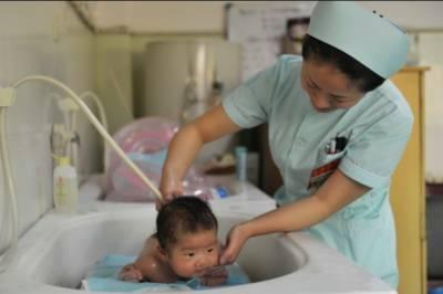 چین میں زچہ بچہ علاج کیلئے3080ادارے موجود ہیں
