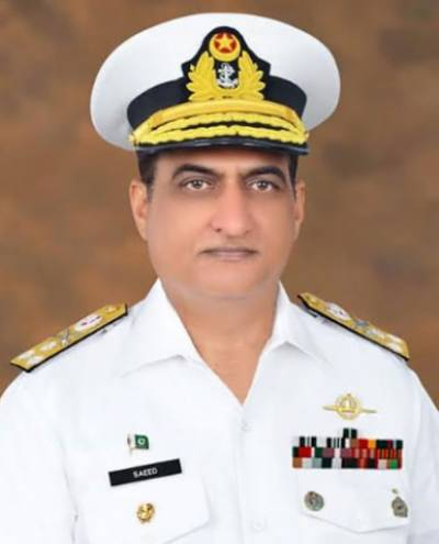 پاک بحریہ کے ریئرایڈمرل احمدسعید کو وائس ایڈمرل کے عہدے پرترقی