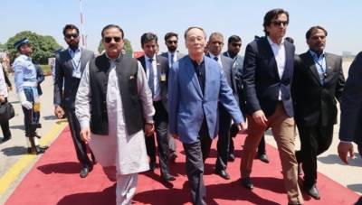 چینی نائب صدر لاہور سے چین واپس روانہ